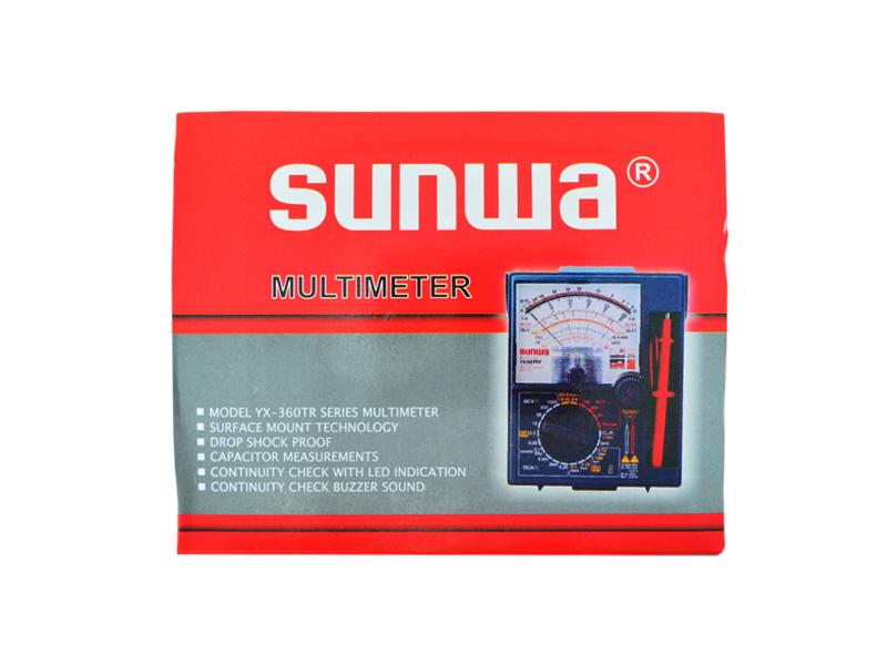 Sunwa YX-360TRD Analog Multimeter - Senith Electronics