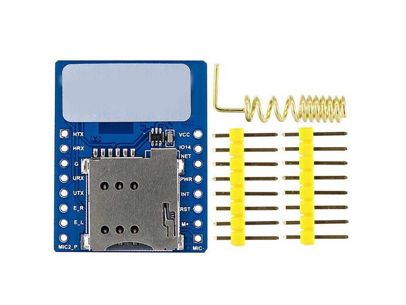 Mini A6 GPRS GSM Module Board - Senith Electronics