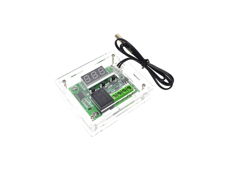 Temperature Control Module W1209 with Clear Case - Senith Electronics